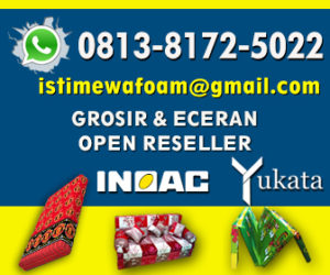 istimewa foam ads